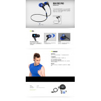Soul Run Free Pro Wireless Active Earphones with Bluetooth (Warranty Period 1 years)