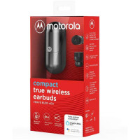 Motorola Vervebuds 400 True Wireless Earbuds with Sleek, Innovative Design and Portable Charging Case