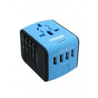 Nologo MQ199 4-bit USB Travel Universal Socket (Warranty Period 1 years)