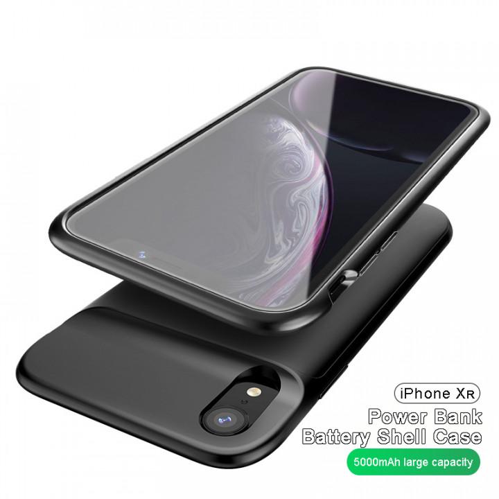 Power Bank Battery Shell Case 5000mAh For iPhone Xr (Hong Kong Warranty Period 90 days)